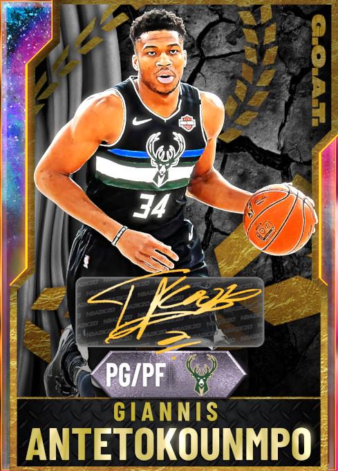 NBA 2K20   2KDB Giannis Antetokounmpo