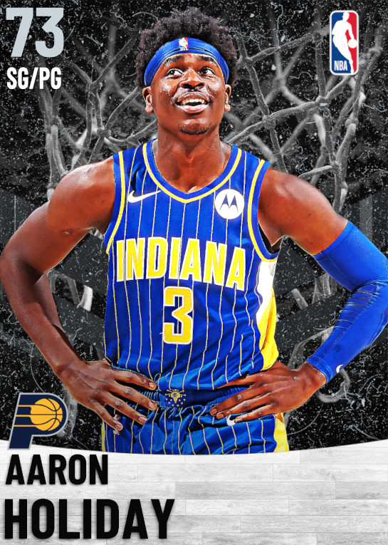 73 Aaron Holiday   Indiana Pacers