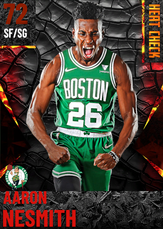 72 Aaron Nesmith | Boston Celtics
