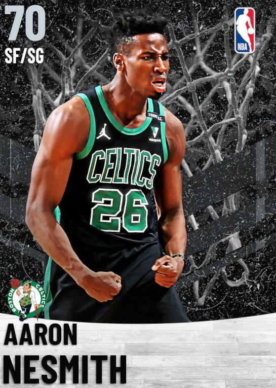 70 Aaron Nesmith   Boston Celtics