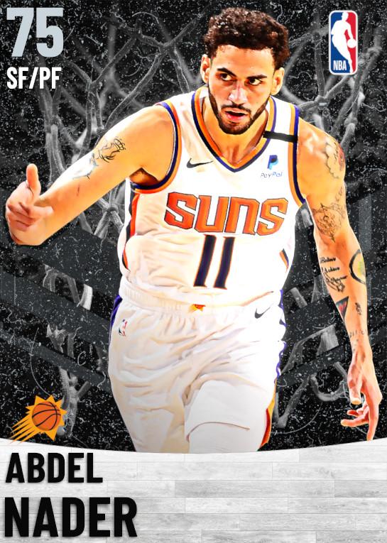 75 Abdel Nader   Phoenix Suns