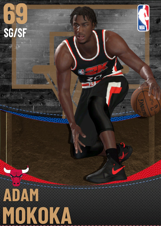69 Adam Mokoka | Chicago Bulls
