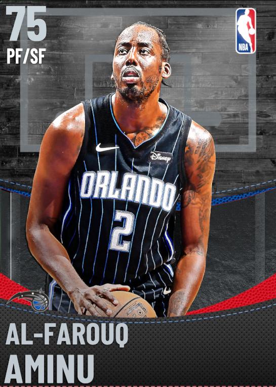 75 Al-Farouq Aminu | Orlando Magic