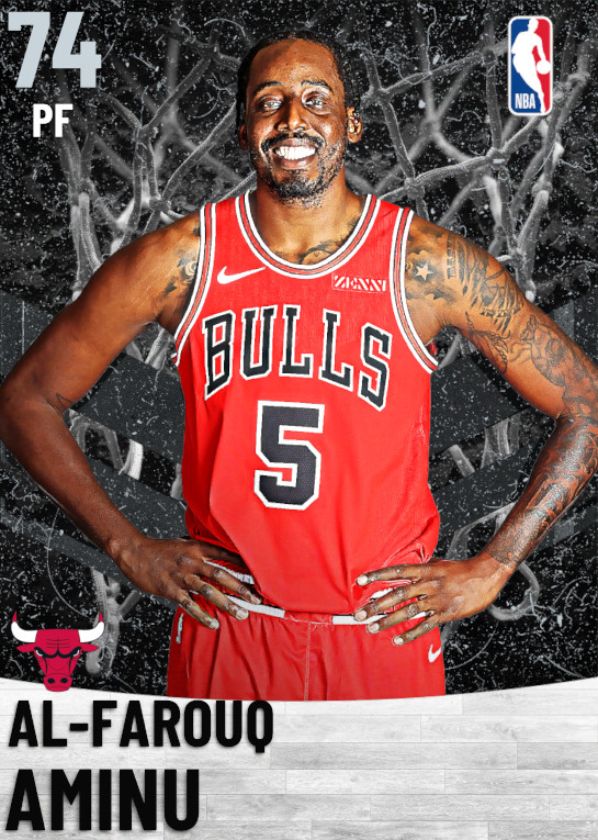 74 Al-Farouq Aminu   Chicago Bulls