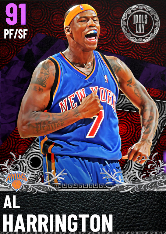 91 Al Harrington | IDOLS Series II VIP