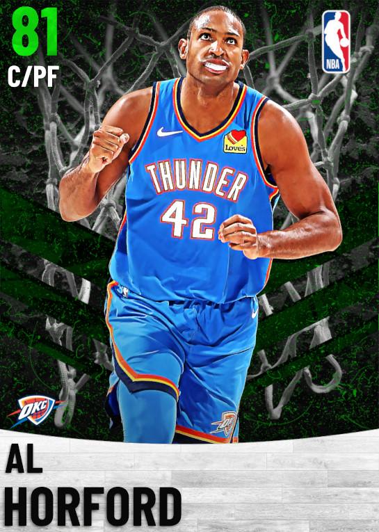 81 Al Horford   Oklahoma City Thunder