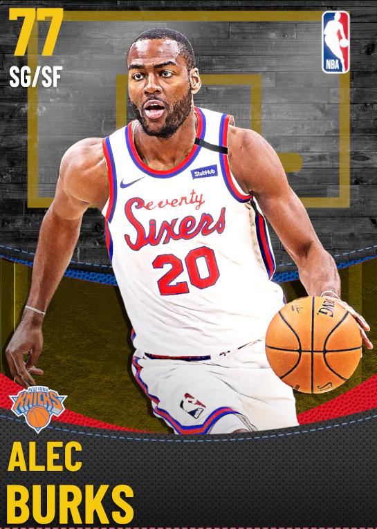 77 Alec Burks | New York Knicks