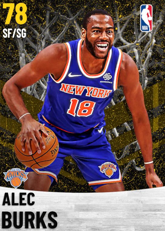 78 Alec Burks   New York Knicks