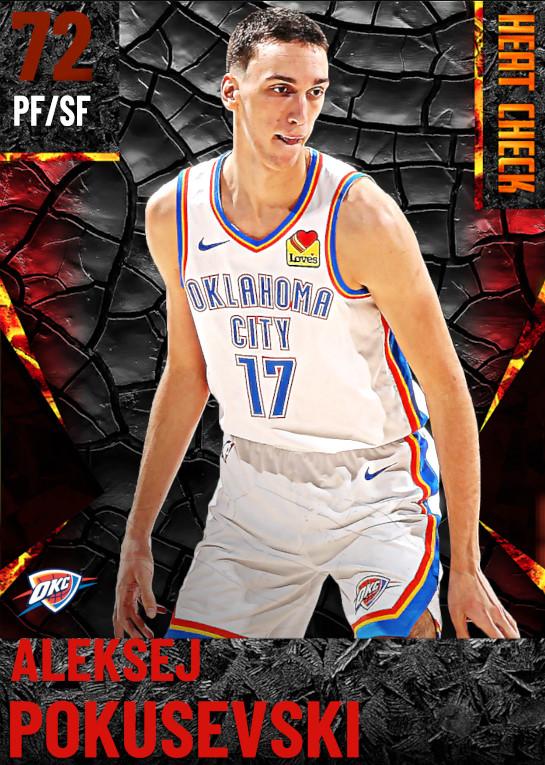 72 Aleksej Pokusevski | Oklahoma City Thunder