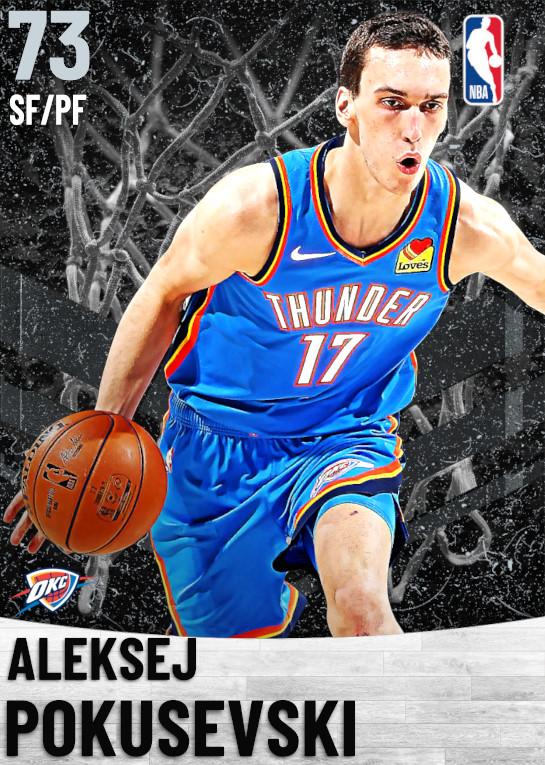 73 Aleksej Pokusevski   Oklahoma City Thunder