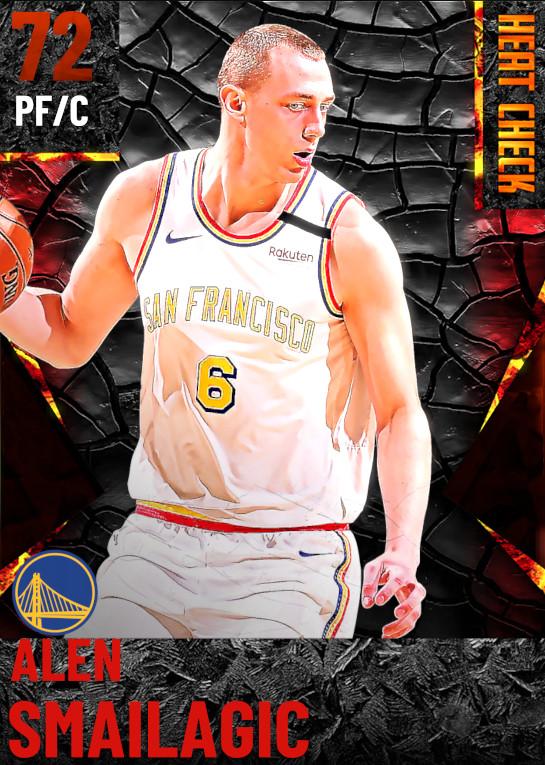 72 Alen Smailagic | Golden State Warriors