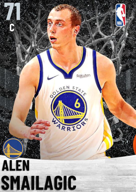 71 Alen Smailagic   Golden State Warriors