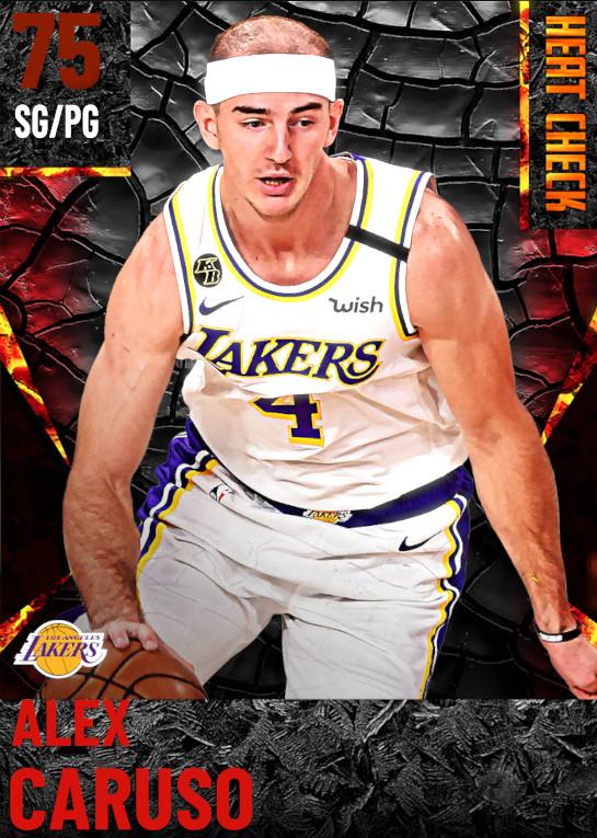 75 Alex Caruso | Los Angeles Lakers