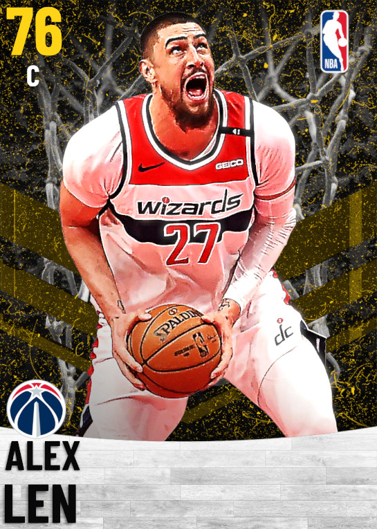76 Alex Len   Washington Wizards