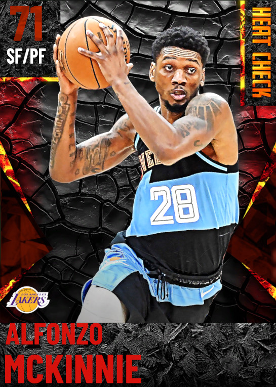 71 Alfonzo McKinnie | Los Angeles Lakers