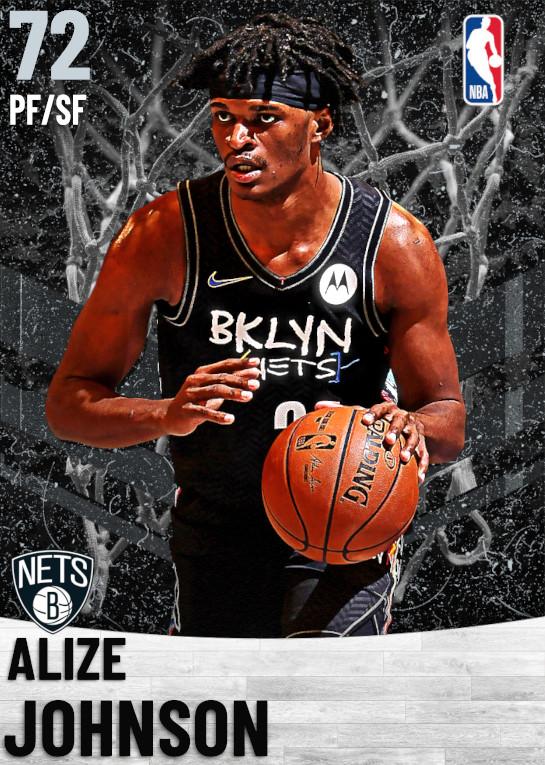 72 Alize Johnson   Brooklyn Nets