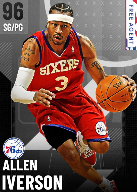 96 Allen Iverson   undefined