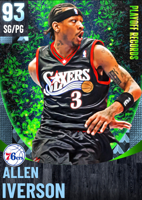 93 Allen Iverson | One Will Rise Playoff Records