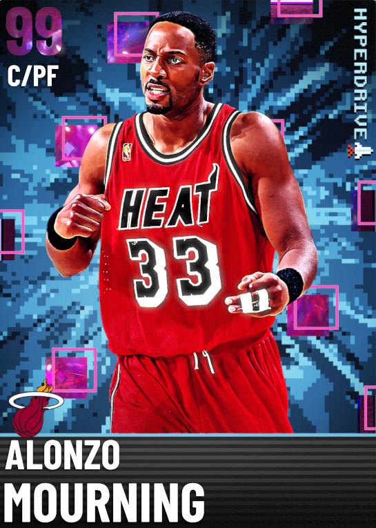 99 Alonzo Mourning   Hyperdrive