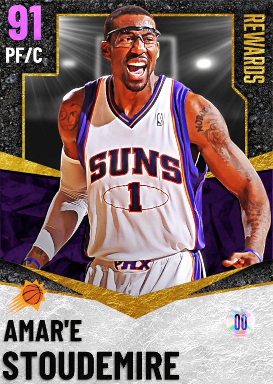 91 Amar'e Stoudemire | Season 5 Rewards