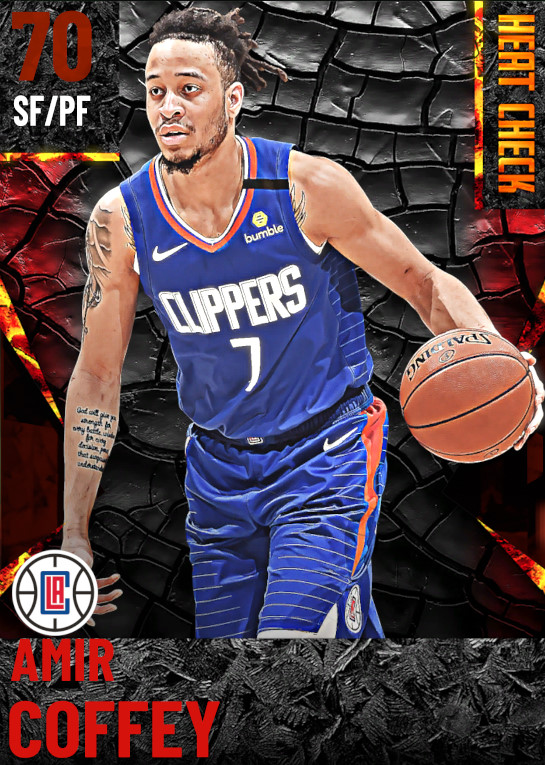 70 Amir Coffey | Los Angeles Clippers