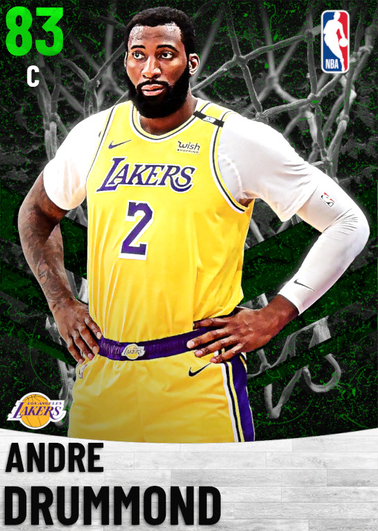 83 Andre Drummond   Los Angeles Lakers