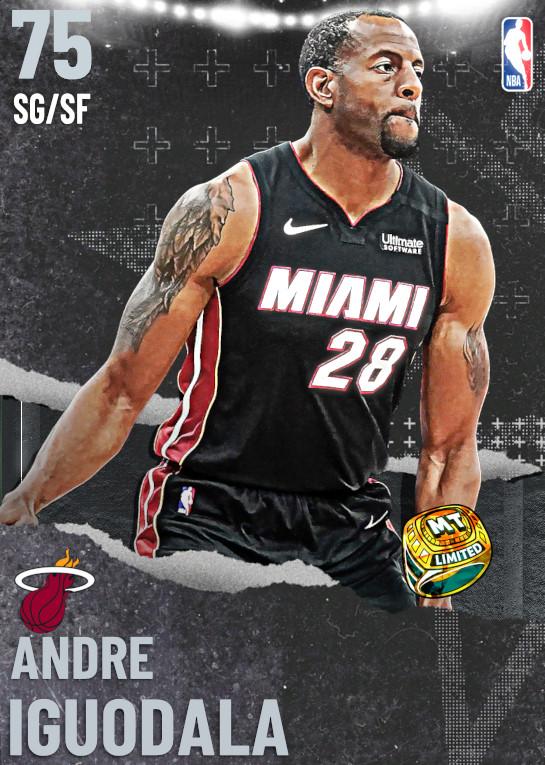 75 Andre Iguodala   Miami Heat
