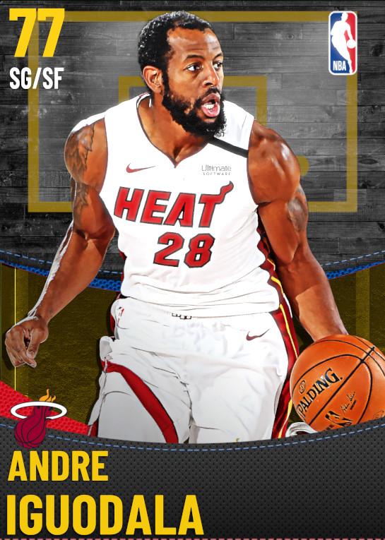 77 Andre Iguodala | Miami Heat
