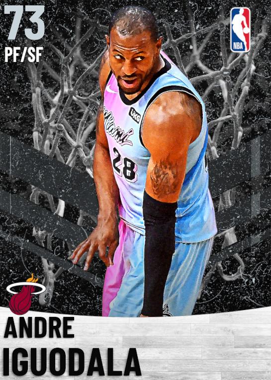 73 Andre Iguodala   Miami Heat