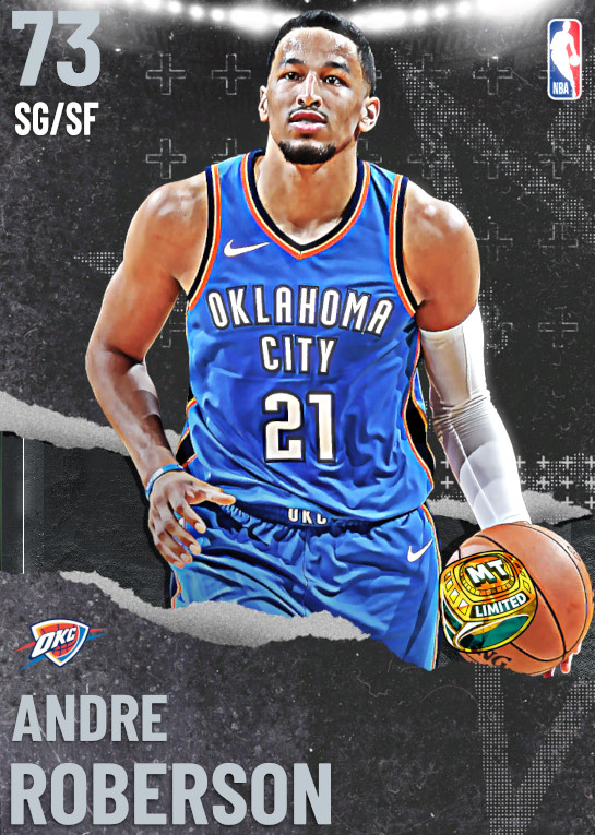 73 Andre Roberson | undefined