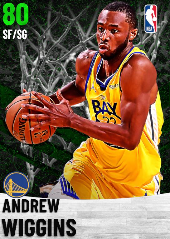 80 Andrew Wiggins   Golden State Warriors
