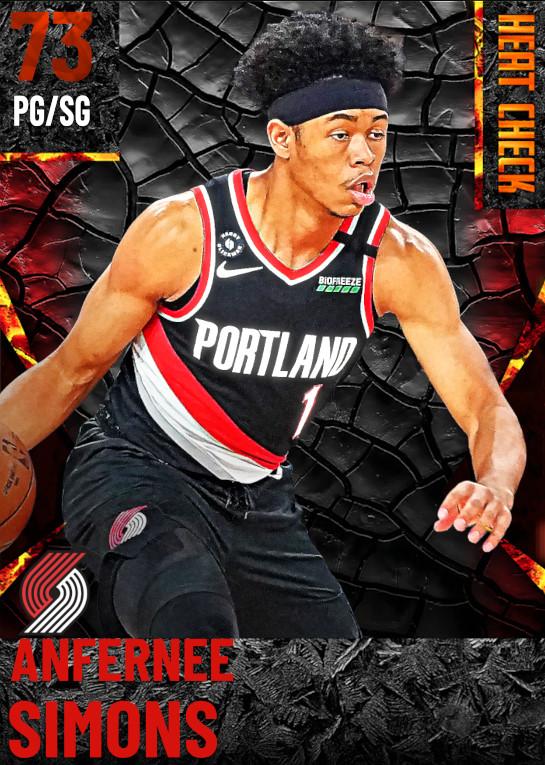 73 Anfernee Simons | Portland Trail Blazers