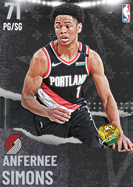 71 Anfernee Simons | undefined
