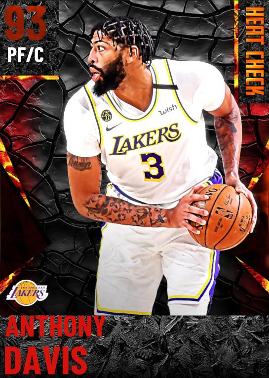 93 Anthony Davis | Los Angeles Lakers