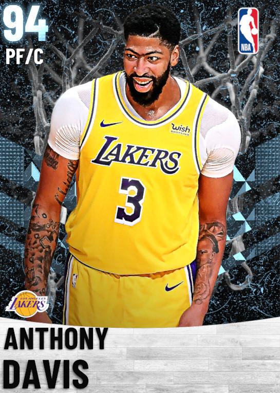 94 Anthony Davis   Los Angeles Lakers