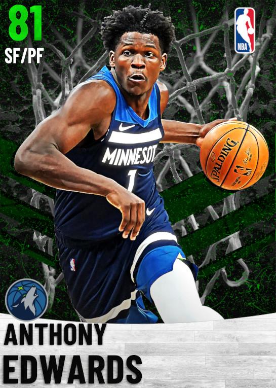81 Anthony Edwards   Minnesota Timberwolves