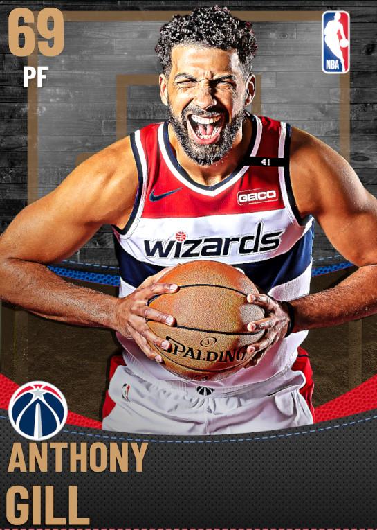 69 Anthony Gill | Washington Wizards