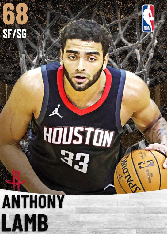68 Anthony Lamb   Houston Rockets