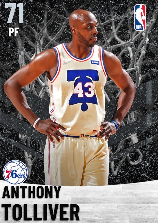 71 Anthony Tolliver   Philadelphia 76ers