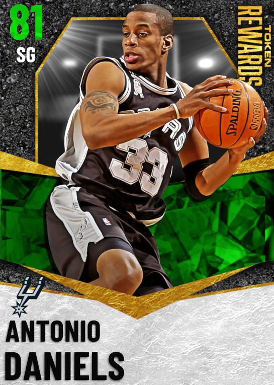 81 Antonio Daniels | undefined