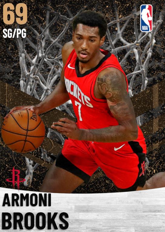 69 Armoni Brooks   Houston Rockets