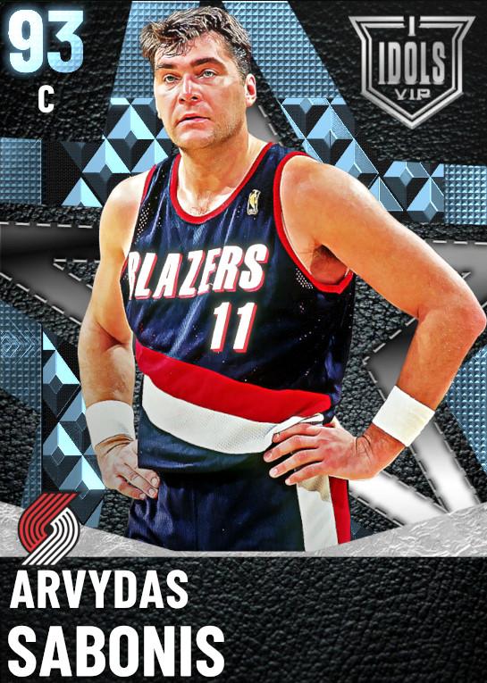 93 Arvydas Sabonis | undefined