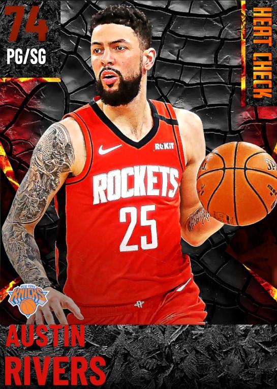 74 Austin Rivers | New York Knicks