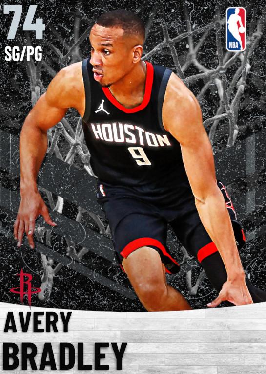 74 Avery Bradley   Houston Rockets