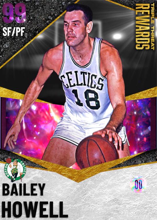 DARK MATTER Bailey Howell (99)