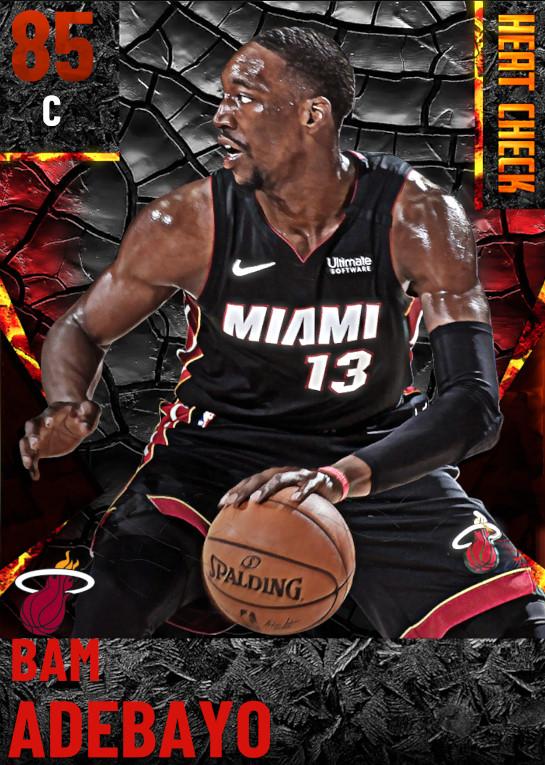 85 Bam Adebayo | Miami Heat