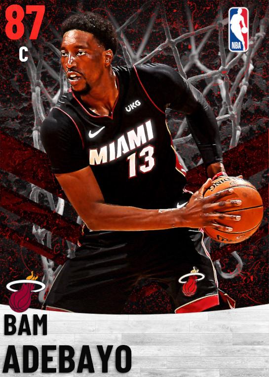 87 Bam Adebayo   Miami Heat