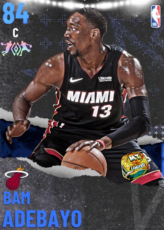 84 Bam Adebayo   Miami Heat