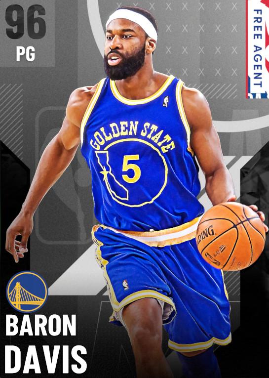 96 Baron Davis   undefined