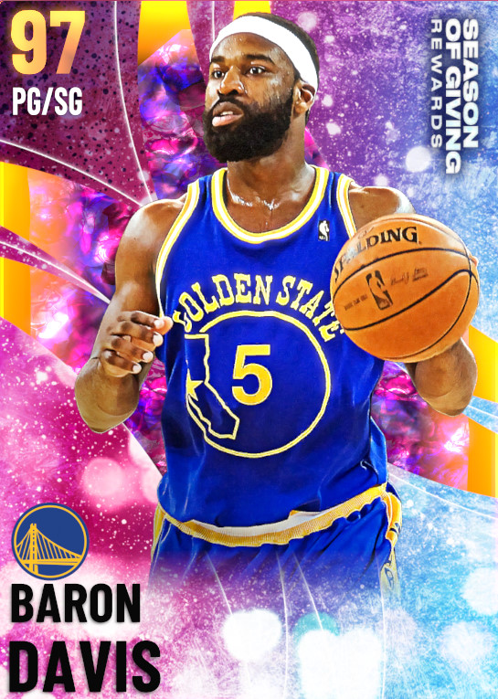 97 Baron Davis | Season 3 Rewards